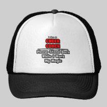 Cheer Coach...Work My Magic Trucker Hats