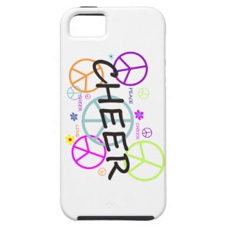 Cheer Colored Peace Signs iPhone SE/5/5s Case