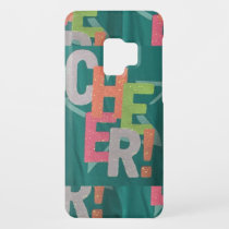 CHEER colorful artistic text pattern deco fashion Case-Mate Samsung Galaxy S9 Case