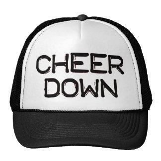 Cheer Down Cap Trucker Hat