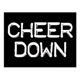 Cheer Down Postcard