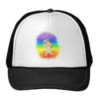 cheer down trucker hat