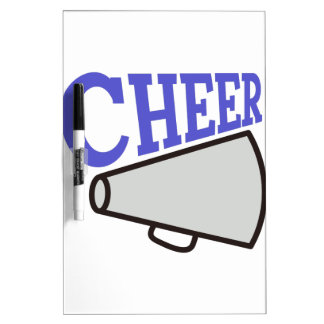 Cheer Dry Erase Board