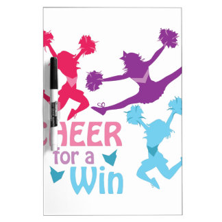 Cheer For A Win Dry-Erase Board