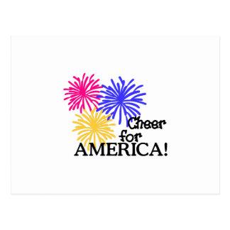 Cheer For America! Postcard