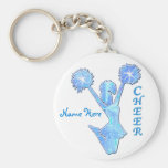 Cheer Gifts Under $5 from Coaches Basic Round Button Keychain