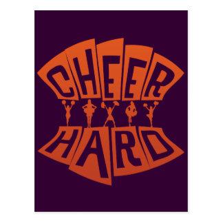 CHEER HARD POSTCARD