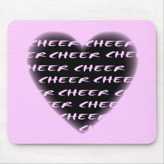 Cheer heart mousepad
