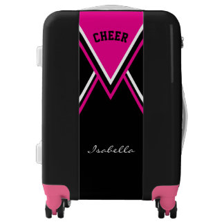 Cheer Hot Pink Cheerleader Outfit Luggage