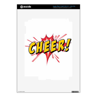 Cheer icon decal for iPad 3
