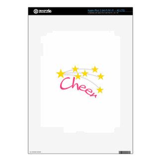Cheer iPad 3 Decal