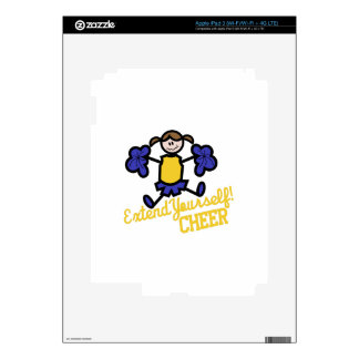 Cheer iPad 3 Decals