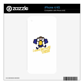 Cheer iPhone 4S Decal