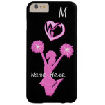 Cheer iPhone 6 Plus Cases Your Name and Monogram Barely There iPhone 6 Plus Case