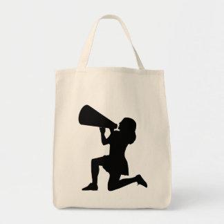 Cheer leader Tote grocery bag