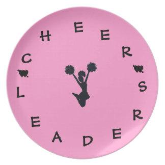 Cheer Leaders Plate