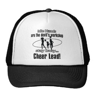 cheer leading awesome gift items trucker hats