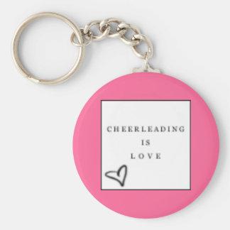 cheer=love keychain