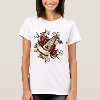 Cheer Maroon and Gold Qualities T-Shirt