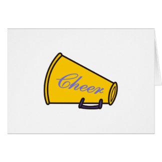 Cheer Megaphone Card