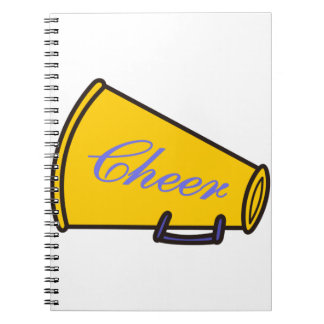 Cheer Megaphone Notebook