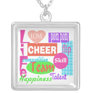 Cheer Mix Silver Plated Necklace