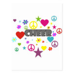 Cheer Mixed Graphics Post Cards