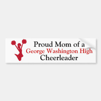 Cheer Mom Bumper Sticker