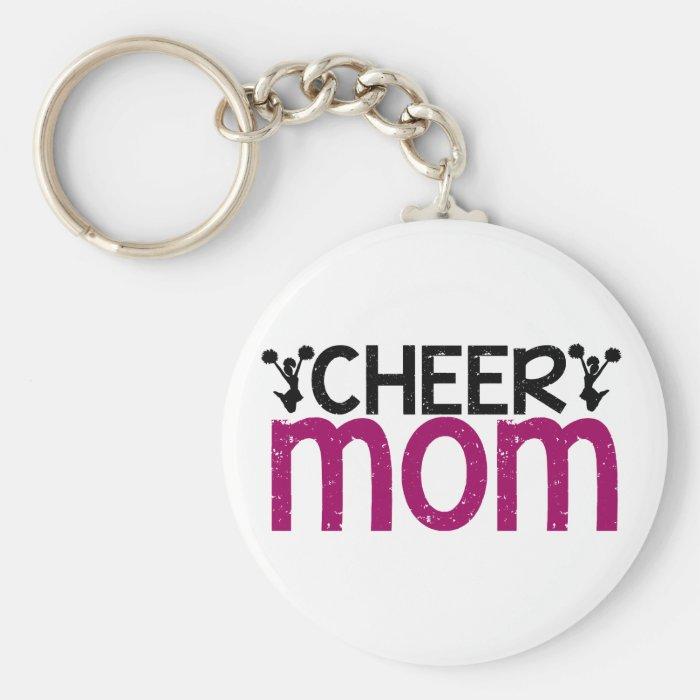 Cheer Mom Keychain
