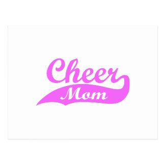 CHEER MOM POSTCARD