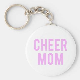 Cheer Mom Print Keychain