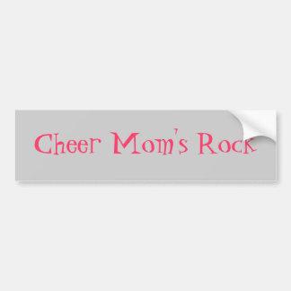 Cheer Mom s Rock Bumper Sticker