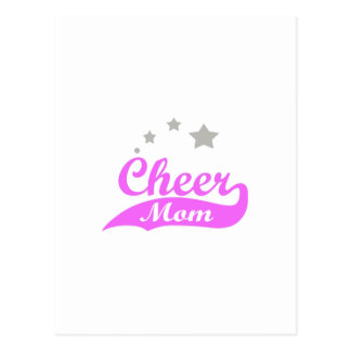 CHEER MOM STARS POSTCARD