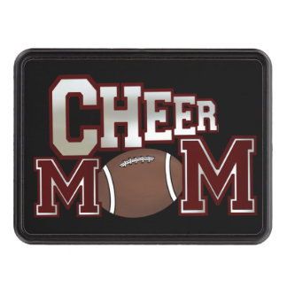 Cheer Mom Trailer Hitch cover
