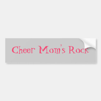Cheer Mom's Rock Bumper Sticker