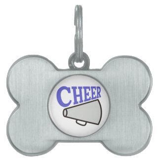 Cheer Pet Tag