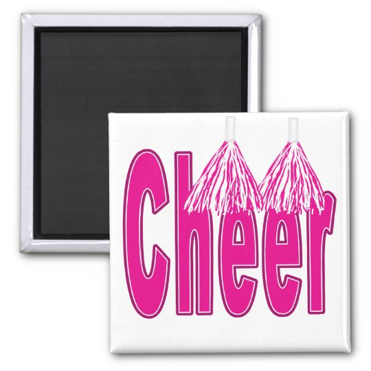 Cheer Pink Magnet
