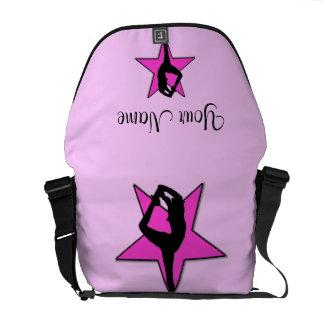 Cheer Pink star Rickshaw Zero Messenger Bag