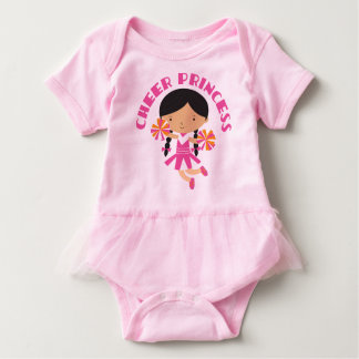 Cheer Princess Cheerleader Baby Tutu T-shirt