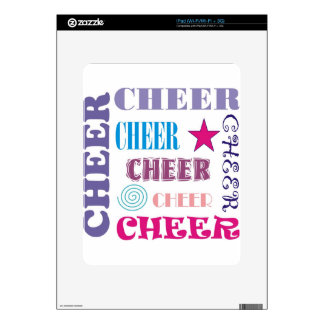 Cheer Repeating Decals For iPad