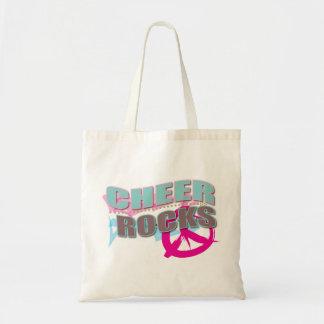 Cheer Rocks Gifts for Cheerleaders! Budget Tote Bag