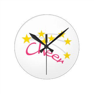 Cheer Round Clock