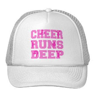 CHEER RUNS DEEP TRUCKER HAT