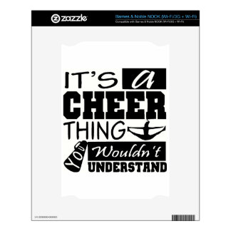 CHeer Decal For NOOK