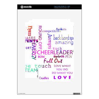 Cheer Spirit iPad 2 Decal