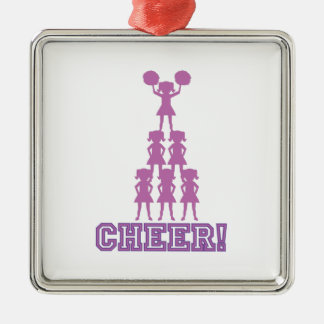 Cheer Squad Metal Ornament