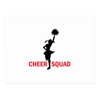 Cheer Squad Postcard