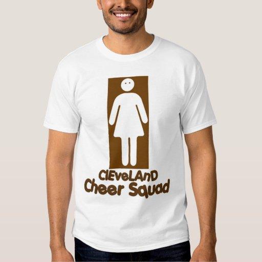 cheer-squad tee shirt