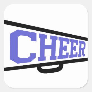 Cheer Square Sticker