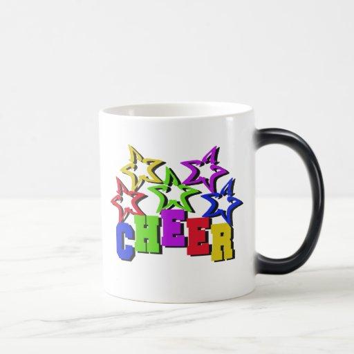 Cheer Stars 11 Oz Magic Heat Color-Changing Coffee Mug